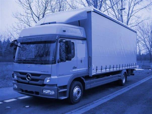 ATEGO 1224 L plachta, foto 1 Užitkové a nákladní vozy, Nad 7,5 t | spěcháto.cz - bazar, inzerce zdarma