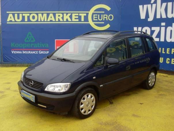 Opel Zafira 1.8 16V Tažné, foto 1 Auto – moto , Automobily | spěcháto.cz - bazar, inzerce zdarma