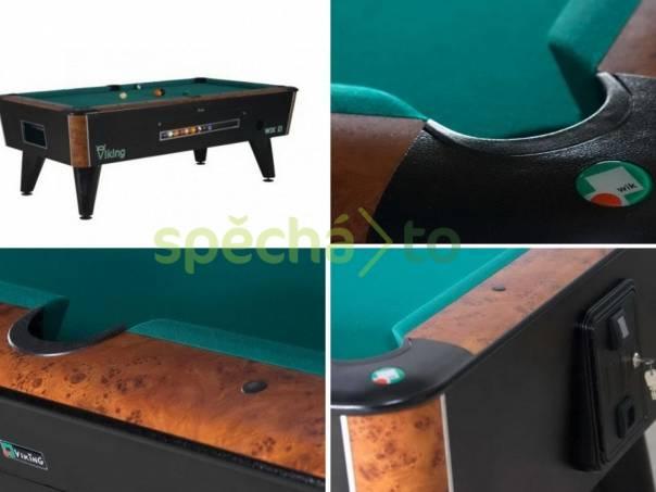 Kulečník, billiardový stůl VIKING 8ft na mince, foto 1 Hobby, volný čas, Společenské hry | spěcháto.cz - bazar, inzerce zdarma