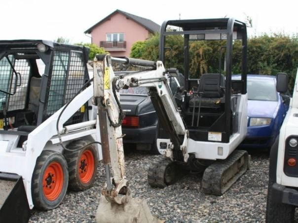 Bobcat  320 Minibagr, foto 1 Pracovní a zemědělské stroje, Pracovní stroje   spěcháto.cz - bazar, inzerce zdarma