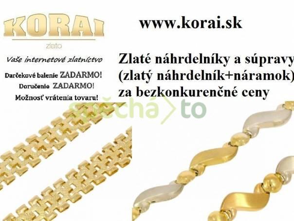 Zlaté náhrdelníky a súpravy KORAI, foto 1 Modní doplňky, Šperky a bižuterie | spěcháto.cz - bazar, inzerce zdarma