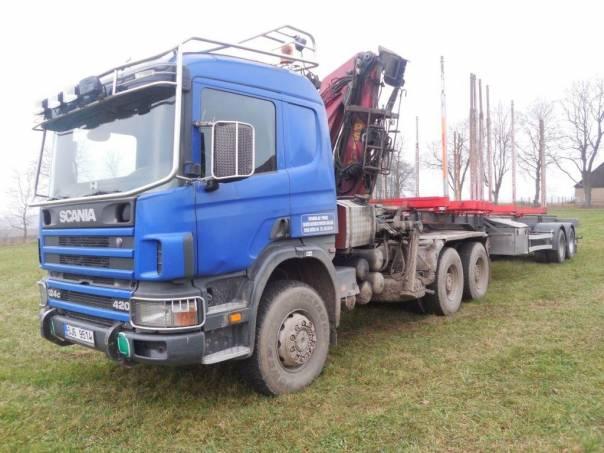Scania  P 124  6x6  EURO 3, foto 1 Užitkové a nákladní vozy, Nad 7,5 t | spěcháto.cz - bazar, inzerce zdarma