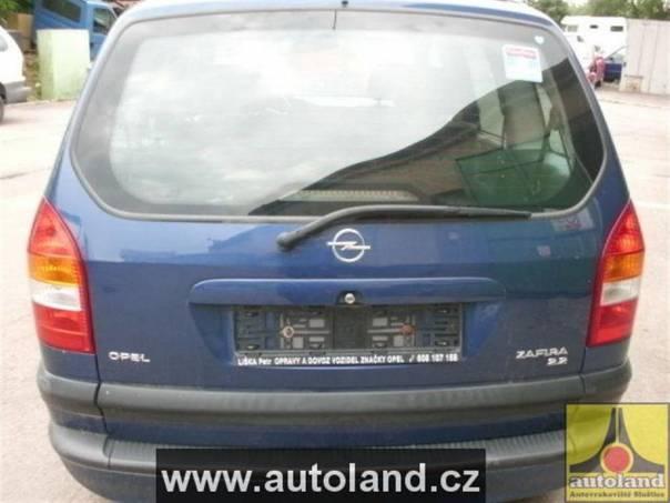 Opel Zafira 2,2, foto 1 Náhradní díly a příslušenství, Ostatní | spěcháto.cz - bazar, inzerce zdarma