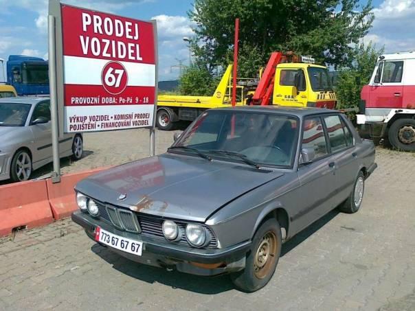 BMW Řada 5 E, foto 1 Auto – moto , Automobily | spěcháto.cz - bazar, inzerce zdarma