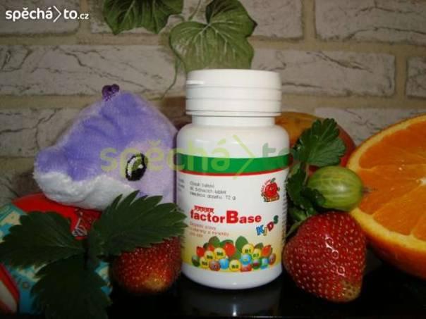 Přírodní vitamíny Factor Base Kids NOVINKA !, foto 1 Pro děti, Zdraví a hygiena | spěcháto.cz - bazar, inzerce zdarma