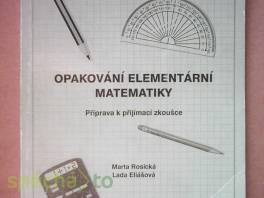 Opakování elementární matematiky - Příprava k přijímací zkoušce