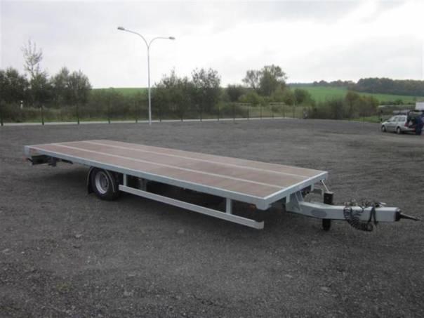 AVG 4,5T 6,60/2,48 - plato, foto 1 Užitkové a nákladní vozy, Přívěsy a návěsy | spěcháto.cz - bazar, inzerce zdarma