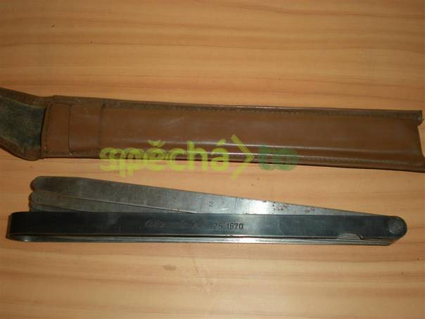 Spárové měrky 1-2 mm Kinex, ČSN 25 1670, foto 1 Dům a zahrada, Dílna | spěcháto.cz - bazar, inzerce zdarma