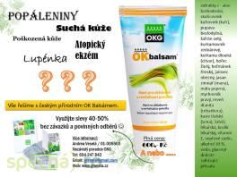 OK Balsam bylinný český výrobek