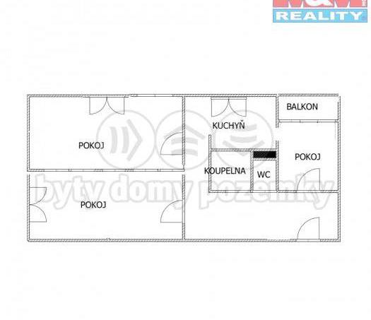 Prodej bytu 3+1, Luhačovice, foto 1 Reality, Byty na prodej | spěcháto.cz - bazar, inzerce