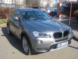 BMW X3 2,0d xDrive 1.majitel 62456km