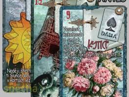 KARTY LENORMAND - Vykládací karty , Hobby, volný čas, Věštění a ezoterika  | spěcháto.cz - bazar, inzerce zdarma