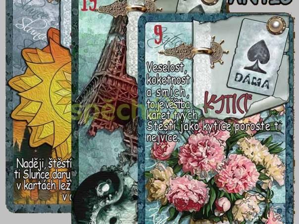 KARTY LENORMAND - Vykládací karty, foto 1 Hobby, volný čas, Věštění a ezoterika | spěcháto.cz - bazar, inzerce zdarma