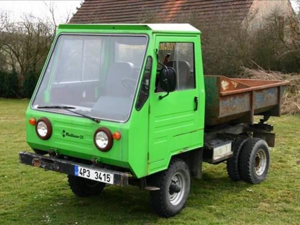 Multicar M 25 2.0 d  Výborný stav, foto 1 Užitkové a nákladní vozy, Do 7,5 t | spěcháto.cz - bazar, inzerce zdarma