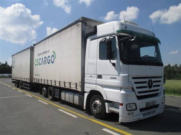 Actros 2536 + Schmitz, foto 1 Užitkové a nákladní vozy, Nad 7,5 t | spěcháto.cz - bazar, inzerce zdarma