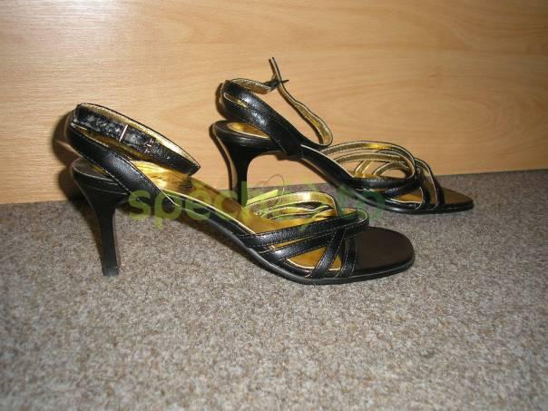 Černá plesová obuv, foto 1 Móda a zdraví, Dámská obuv | spěcháto.cz - bazar, inzerce zdarma