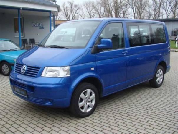 Volkswagen Caravelle 1,9TDI 75kW klima 9mist 120tkm, foto 1 Užitkové a nákladní vozy, Autobusy | spěcháto.cz - bazar, inzerce zdarma