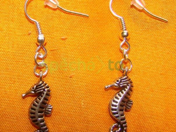 náušnice mořský koník , foto 1 Modní doplňky, Šperky a bižuterie | spěcháto.cz - bazar, inzerce zdarma