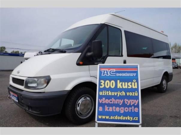 Ford Transit 100T 300L TDDI 9 míst  LONG, foto 1 Užitkové a nákladní vozy, Autobusy | spěcháto.cz - bazar, inzerce zdarma