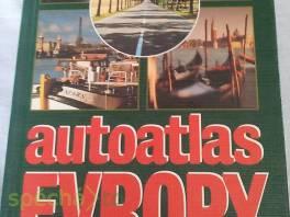 Autoatlas Evropy , Hobby, volný čas, Knihy  | spěcháto.cz - bazar, inzerce zdarma
