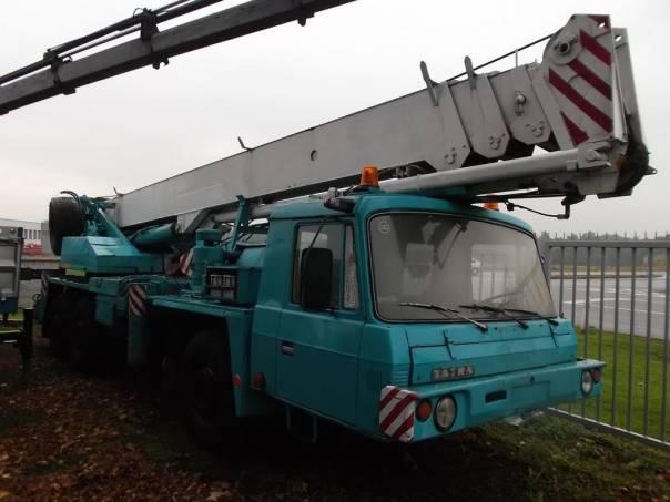 Tatra  AD 28 ČKD 6x6 autojeřáb, foto 1 Užitkové a nákladní vozy, Nad 7,5 t | spěcháto.cz - bazar, inzerce zdarma