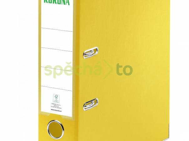 Pořadač (šanon) A4 pákový, hřbet 7,5 cm – žlutý, foto 1 Hobby, volný čas, Knihy | spěcháto.cz - bazar, inzerce zdarma
