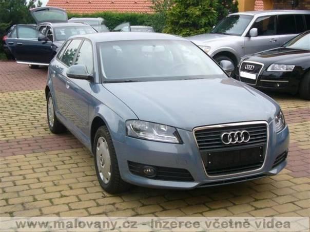 Audi A3 1,6 najeto pouze 4116 km 75kW, foto 1 Auto – moto , Automobily | spěcháto.cz - bazar, inzerce zdarma