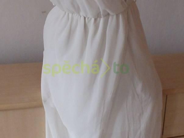 da77a6a374 Krásné maxi bílé vílí šaty Zara - Trafaluc