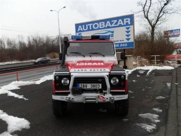 Land Rover Defender HASIČSKÝ SPECIÁL, foto 1 Auto – moto , Automobily | spěcháto.cz - bazar, inzerce zdarma
