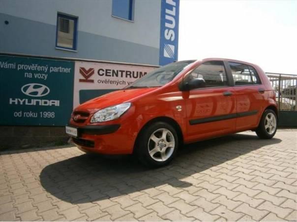 Hyundai Getz 1,1i KLIMA, 55.000km, NOVÁ STK, foto 1 Auto – moto , Automobily | spěcháto.cz - bazar, inzerce zdarma