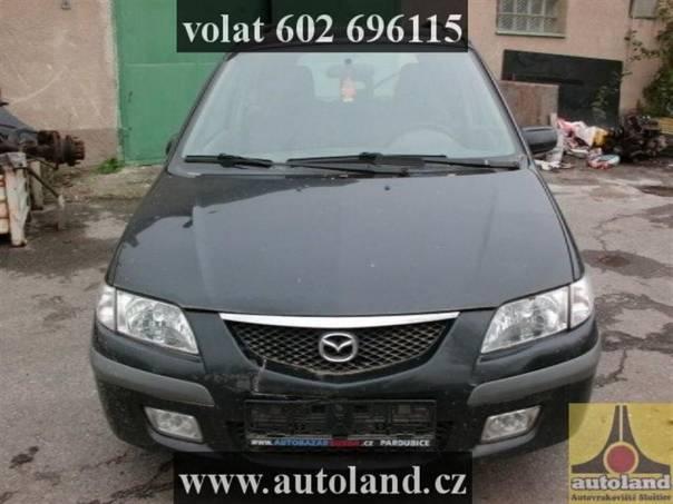 Mazda Premacy 2,0, foto 1 Náhradní díly a příslušenství, Ostatní | spěcháto.cz - bazar, inzerce zdarma