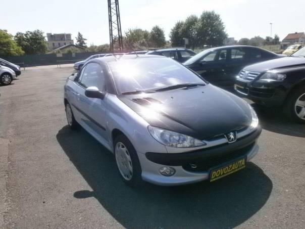 Peugeot 206 cc 1.6i 16V, foto 1 Auto – moto , Automobily | spěcháto.cz - bazar, inzerce zdarma