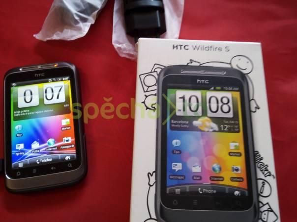 HTC Wildfire S nový telefon, foto 1 Telefony a GPS, Mobilní telefony | spěcháto.cz - bazar, inzerce zdarma