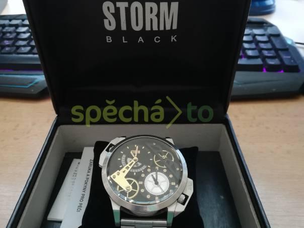 3df32a1bb Pánské hodinky Storm Dualon leather silver | spěcháto.cz - bazar, inzerce  zdarma