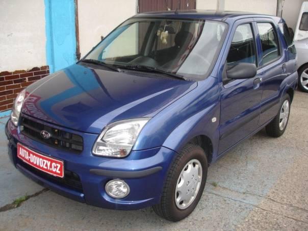 Subaru Justy 1,3i 69KW 4X4 G3X 1.MAJITEL, foto 1 Auto – moto , Automobily | spěcháto.cz - bazar, inzerce zdarma
