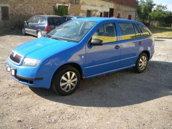 Škoda Fabia 1.2 12V Kombi, foto 1 Auto – moto , Automobily | spěcháto.cz - bazar, inzerce zdarma