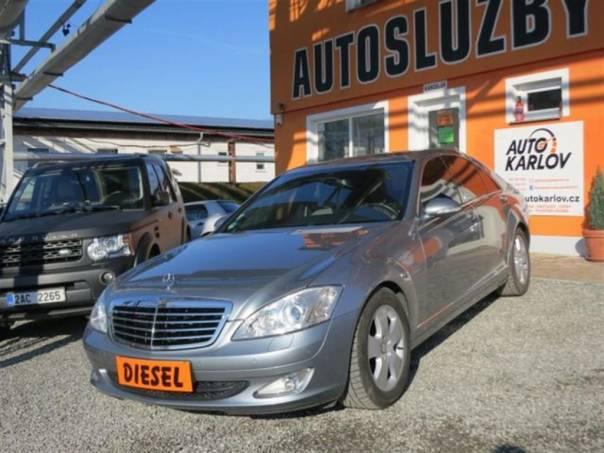 Mercedes-Benz Třída S S 320 CDi,NAVI,kůže, foto 1 Auto – moto , Automobily | spěcháto.cz - bazar, inzerce zdarma