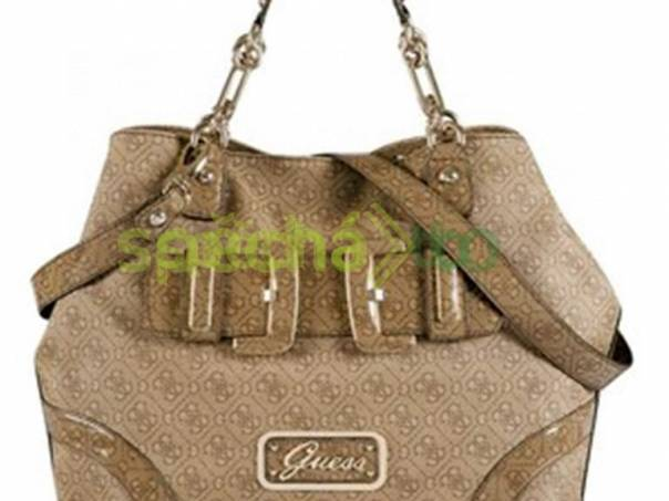 Luxusní hnedá kabelka Guess Montego 9d6e7ffa172