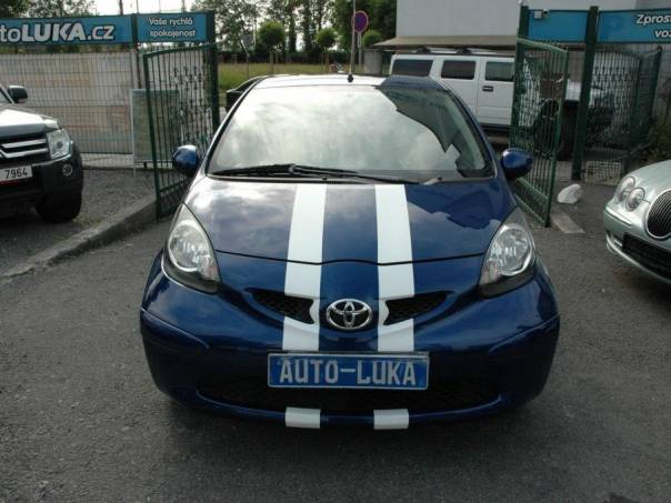 Toyota Aygo 1.0 COOL BLUE, foto 1 Auto – moto , Automobily | spěcháto.cz - bazar, inzerce zdarma