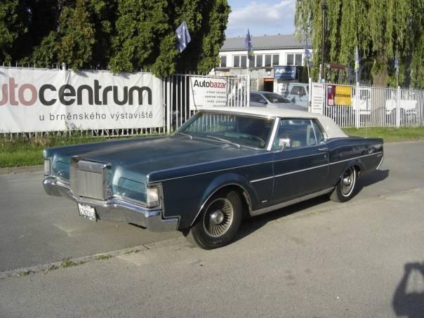 Lincoln Continental 7.5 MARK III V8, foto 1 Auto – moto , Automobily | spěcháto.cz - bazar, inzerce zdarma