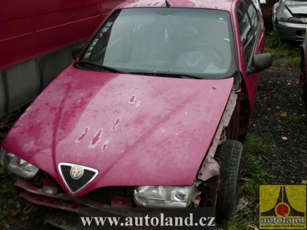 Alfa Romeo 146 1,6, foto 1 Náhradní díly a příslušenství, Ostatní | spěcháto.cz - bazar, inzerce zdarma