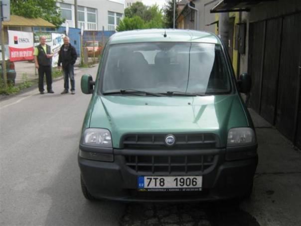 Fiat Dobló 1.9 JTD ELX, foto 1 Auto – moto , Automobily | spěcháto.cz - bazar, inzerce zdarma