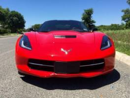 Chevrolet Corvette Stingray Coupé EU Navi
