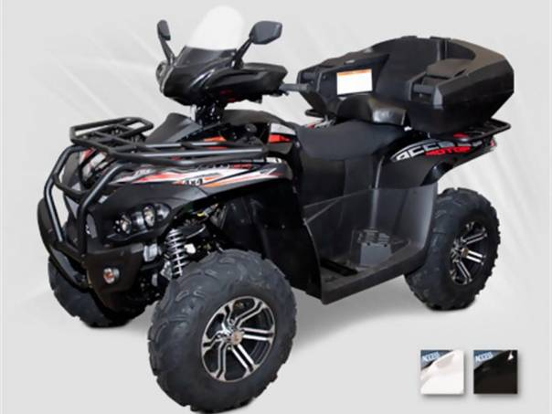 Access Motor  MAX 750i 4x4 LT FOREST SPZ black, foto 1 Auto – moto , Motocykly a čtyřkolky   spěcháto.cz - bazar, inzerce zdarma