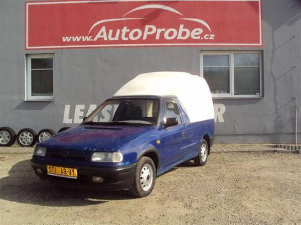 Škoda Felicia Pick-Up 1.3LXI, foto 1 Užitkové a nákladní vozy, Do 7,5 t | spěcháto.cz - bazar, inzerce zdarma