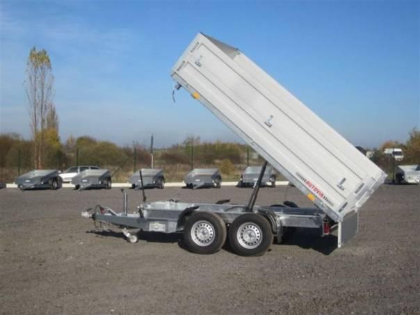 3SKS RH-ECO-2 nástavbou bočnic, foto 1 Užitkové a nákladní vozy, Přívěsy a návěsy | spěcháto.cz - bazar, inzerce zdarma