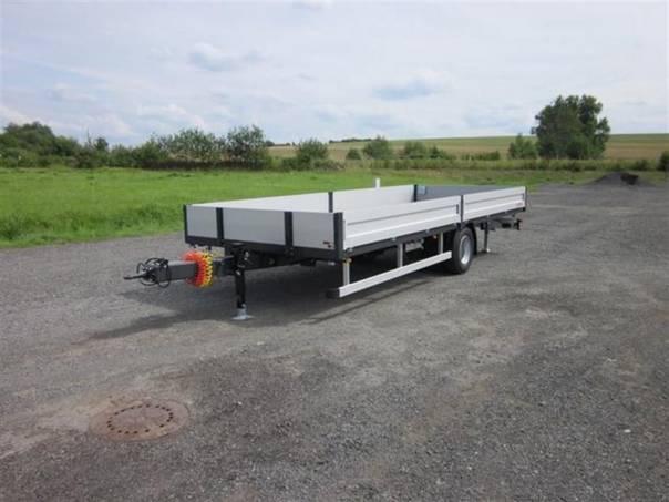 SV 10T7,4/2,47/0,35 valník, foto 1 Užitkové a nákladní vozy, Přívěsy a návěsy | spěcháto.cz - bazar, inzerce zdarma