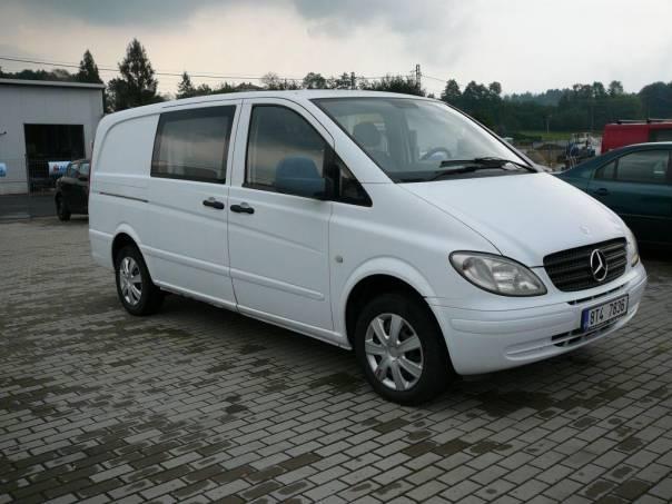 Mercedes-Benz Vito 109 2.2 CDI XL, foto 1 Auto – moto , Automobily | spěcháto.cz - bazar, inzerce zdarma