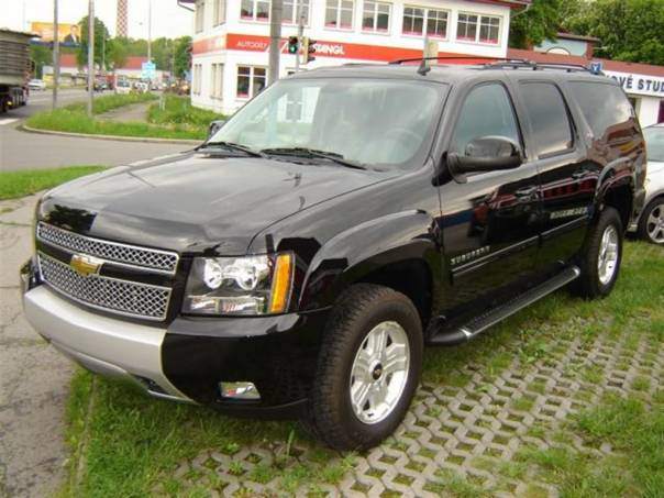 Chevrolet Suburban 1500 5,3 LT FlexiFuel, foto 1 Auto – moto , Automobily | spěcháto.cz - bazar, inzerce zdarma