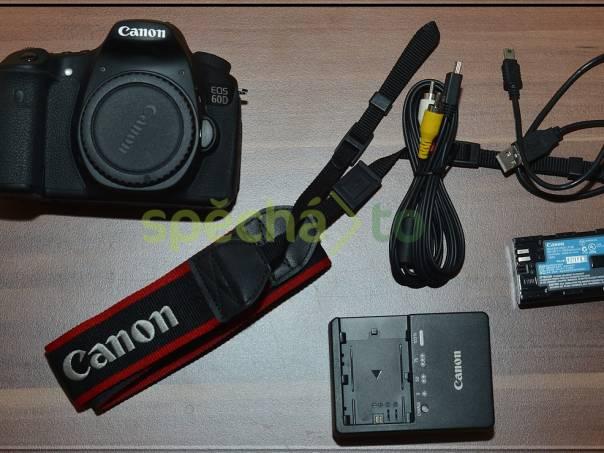 Canon EOS 60D 18MPix CMOS*Full HD videa*TOP jen 14500 Exp. , foto 1 Fotoaparáty a kamery, Fotoaparáty, zrcadlovky | spěcháto.cz - bazar, inzerce zdarma